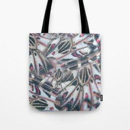 Butterflies Print Tote Bag