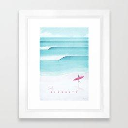Biarritz Framed Art Print
