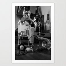 Whiskey Art Print