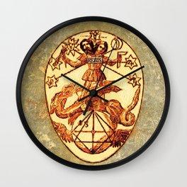 Symbols of the Occult - Mundane Egg Wall Clock