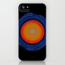 Circular Sunset iPhone Case