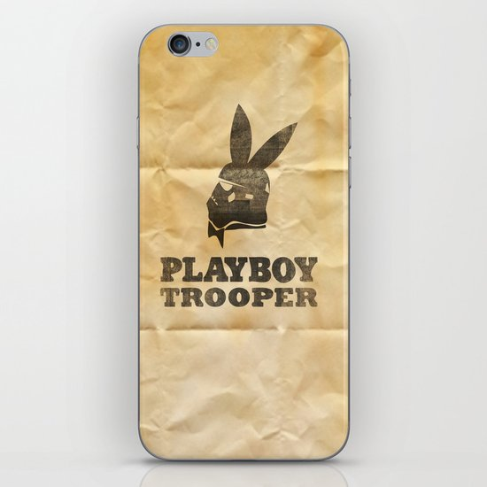 playboy trooper  iPhone & iPod Skin