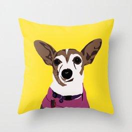 Poppy the Jack Throw Pillow