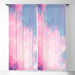 Bold Clouds Blackout Curtain
