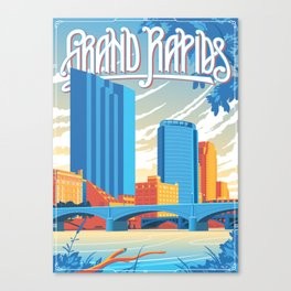 Grand Rapids Canvas Print