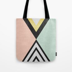 Minimalist fashion and golden I Tote Bag