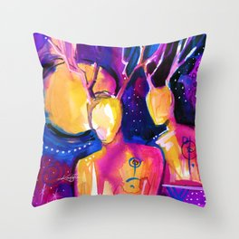 Spirit Seekers No. 38 Throw Pillow