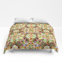 Circus Pastel Mandala Comforters