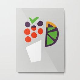 Berry Cocktail Metal Print