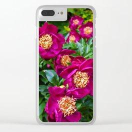 Shot in Purple Clear iPhone Case