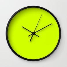 Yellooow Wall Clock