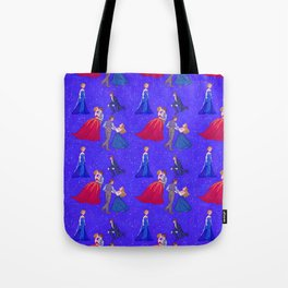 The Princess and the Con Man Tote Bag