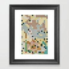 Pixelmania XIV Framed Art Print