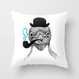 funny animals Throw Pillow