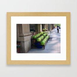 New York City Market 2009 Framed Art Print