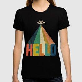 Hello I come in peace T-shirt