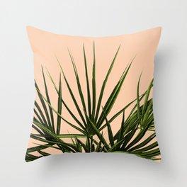 Palm Life - Pastel Throw Pillow