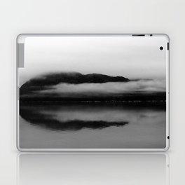 Black and White Alaska Photography, Enchanted Isle Laptop & iPad Skin