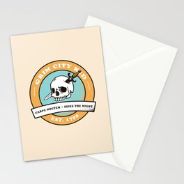 Grim City Kid (Carpe Noctem) Stationery Cards
