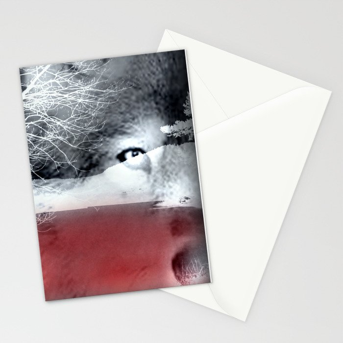 Wolf's blood Stationery Cards