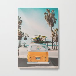 Coming Home to California Metal Print
