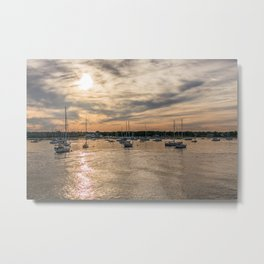 Hyannis sunset Metal Print