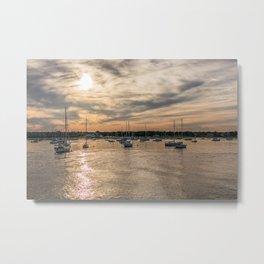 Hyannis sunset Metal Print