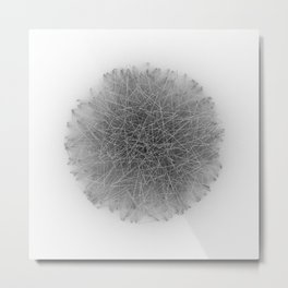 Wireframe Composition No. 17 Metal Print