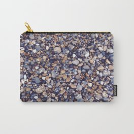 Pebbles in Pinkish Carry-All Pouch