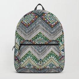 beaded chevron platinum Backpack