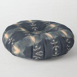 Pomegranate Shibori Floor Pillow