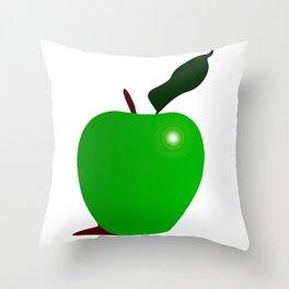 Nice Green Apple Throw Pillow