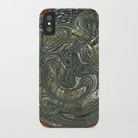 portal iPhone & iPod Cases featuring Portal by DesignsByMarly