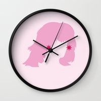 jem Wall Clocks featuring JEM by Tyler Pentland