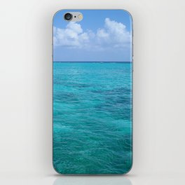 Caribbean Blues iPhone Skin