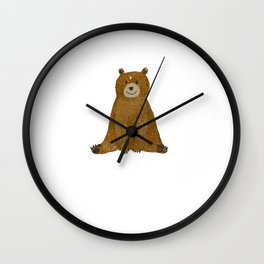 Cute Bear I Love You Like No Otter Adorable Animal Wall Clock