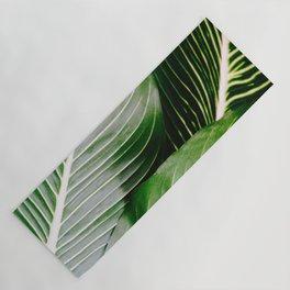 Big Leaves - Tropical Nature Photography Yoga Mat
