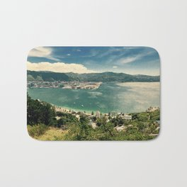 The Wind and the Waves Bath Mat