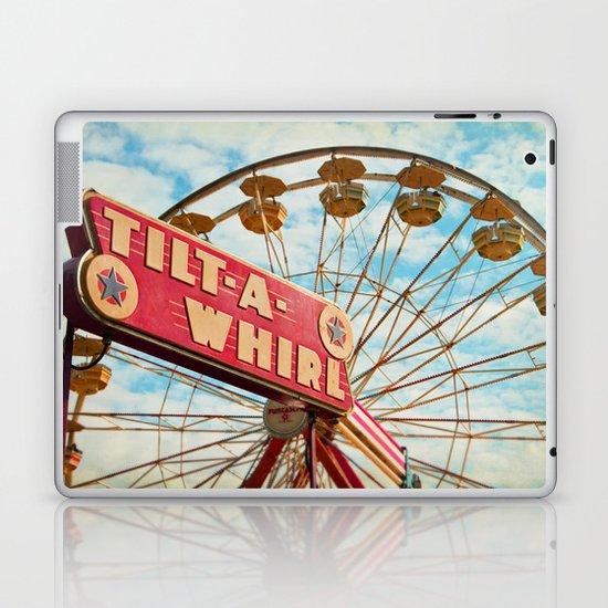 tilt-a-whirl Laptop & iPad Skin