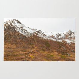 3 Red Cabins Rug