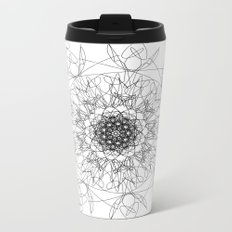 mandala - muse 3 Metal Travel Mug