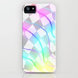 Fractured Colors iPhone Case