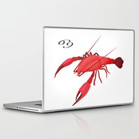 cancer Laptop & iPad Skins featuring Cancer by Rejdzy