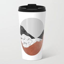 Copper Geometric III Travel Mug