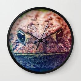 HollyWood Toad Wall Clock
