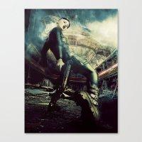 metal gear Canvas Prints featuring Metal Gear by Christel Michiels (DD)