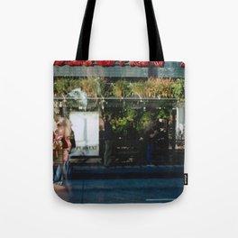 Greener Busses - overlapper Tote Bag