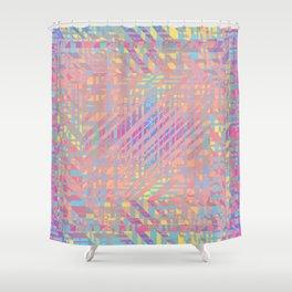 Diagonal fragmentation Shower Curtain