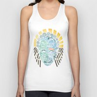 africa Tank Tops featuring Africa by Filip Postolache