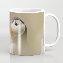 Portrait of Puffin Coffee Mug